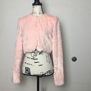 Pink reversible festival jacket